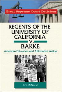 Infobase Publishing - Regents of the University of California v. Bakke