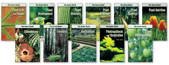 Infobase Publishing The Green World Set 11 Volumes