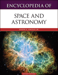 Cover art for Encyclopedia of Space and Astronomy