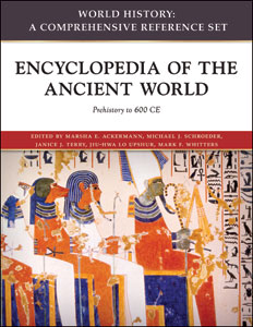 Infobase publishing encyclopedia of the ancient world prehistoric look inside this ebook table of contents fandeluxe Images